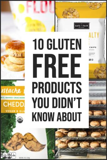 gluten free products you didn't know about product review list