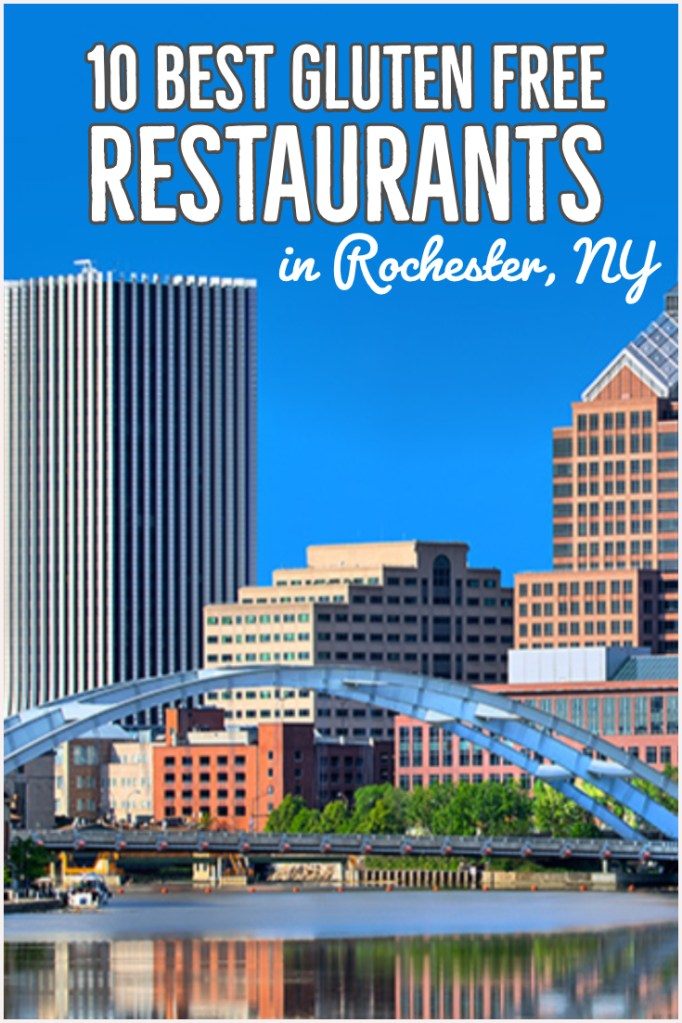 10 Best Gluten Free Restaurants in Rochester NY. Image of Rochester, NY city looking over the bridge.