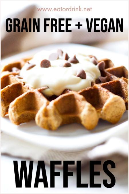 grain free waffle recipe