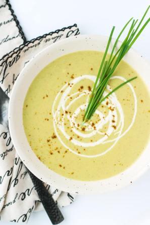banana apple curry soup savory apple fall recipe