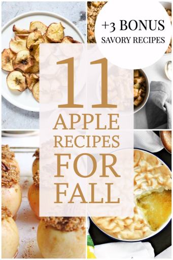 11 apple recipes for fall 3 bonus savory recipes