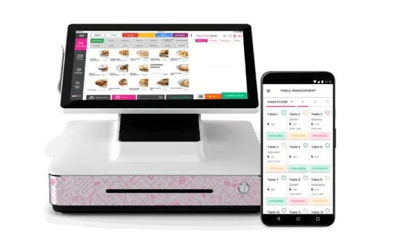 eatOS menu management feature