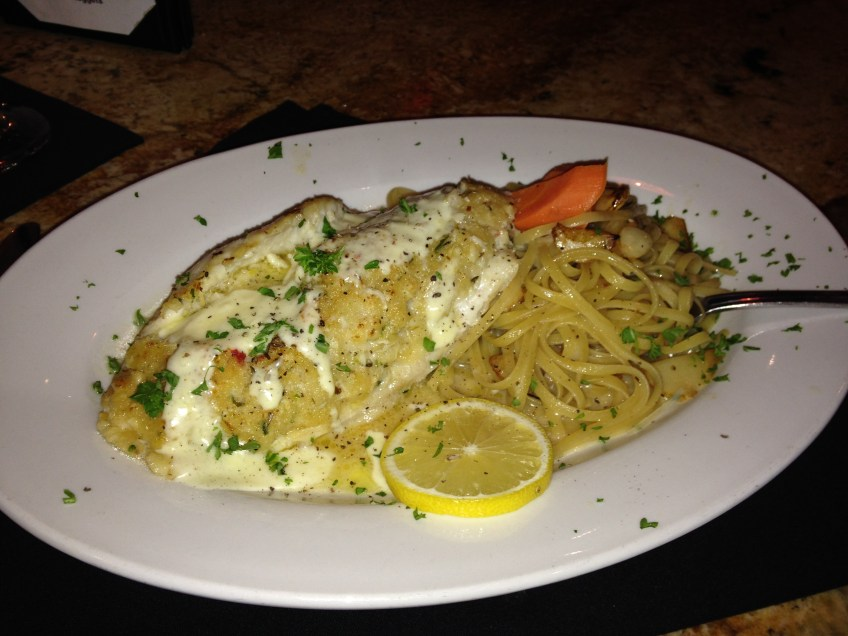Crab Stuffed Grouper