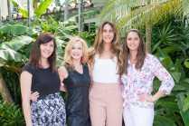 Danni Mitchell, Dionne Schneider, Jacquelyn Quesada, Abby Zinn