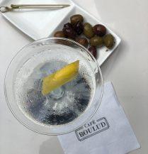 Cafe Boulud Martini Olives