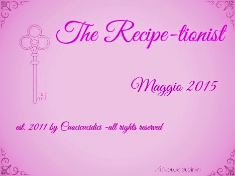The recipe...tionist