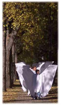 Angel Action - Zdjęcie z witruny internetowej Romaine Patterson