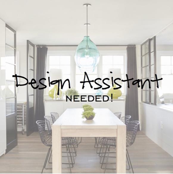 Assistant Interior Designer
