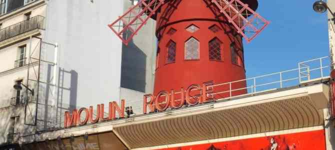 A night at Le Moulin Rouge