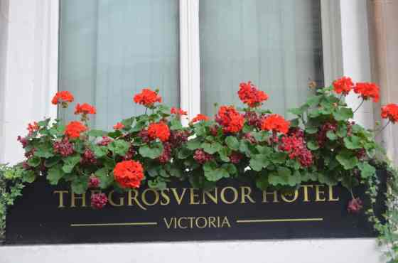 The Grosvenor Hotel was the perfect spot to grab a traditional English Afternoon Tea