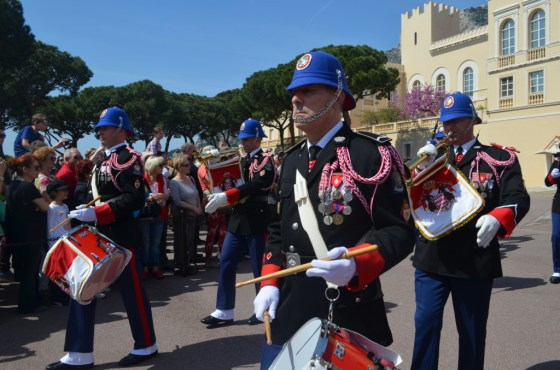 The Changing of the Guard at the Prince's Palace