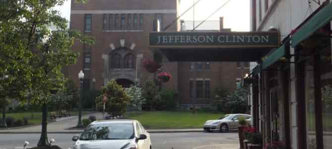 The Jefferson Clinton Hotel: Old World Charm in Syracuse's City Centre