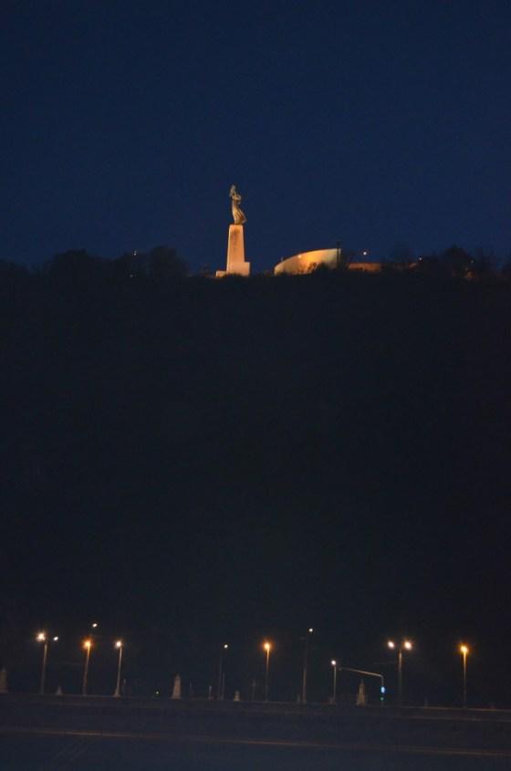 Gellert Hill by night