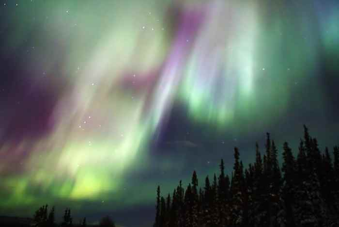 Northern lights in the Yukon CC StudioLit