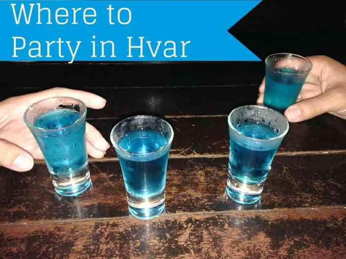 Where to Party in Hvar