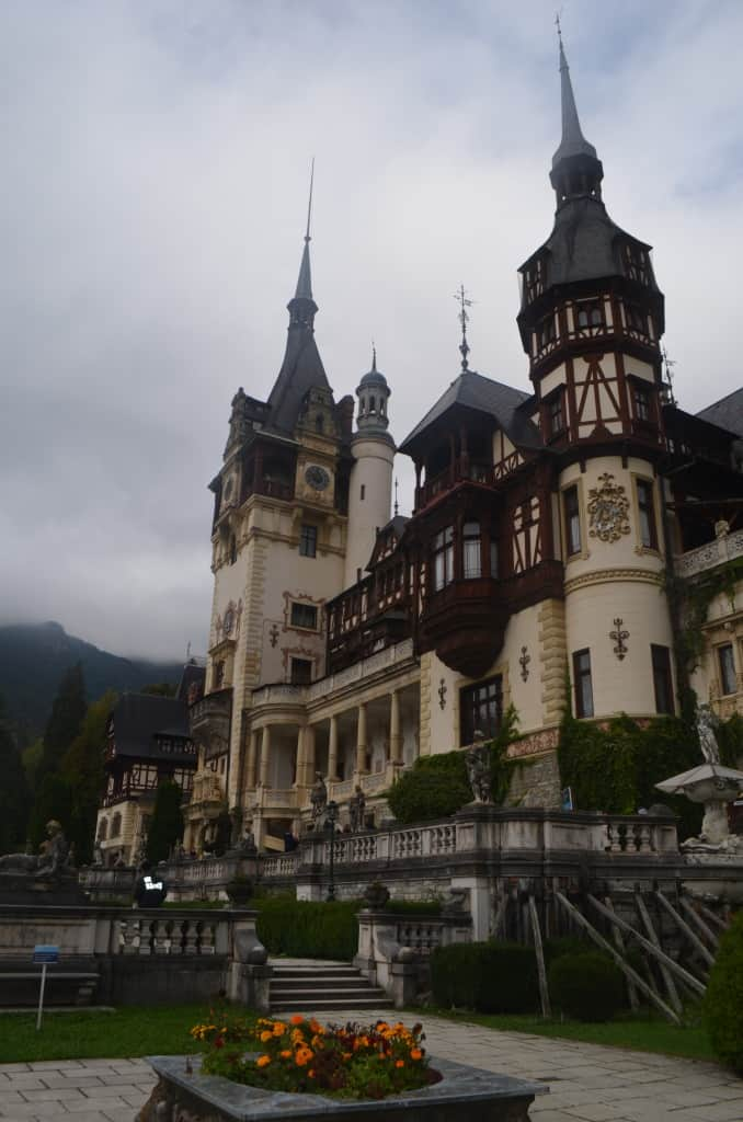 Beautiful Peles Castle