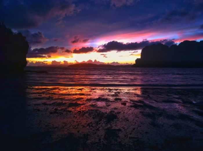 Railay Beach from Nina