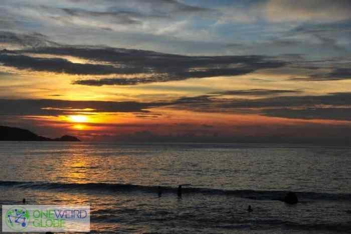 Patong Beach, Phuket from One Weird Globe