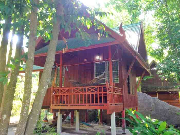 This little beach bungalow in Koh Tao was all mine for a couple of nights.