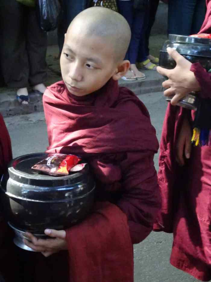 monk in Mandalay
