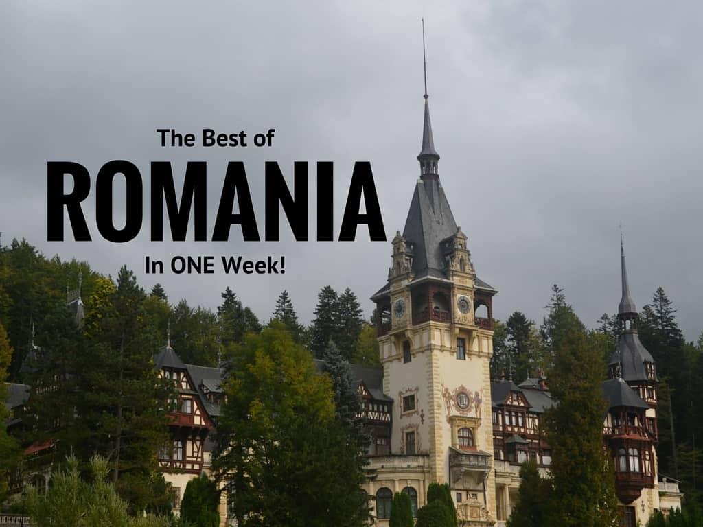 Romania in one week