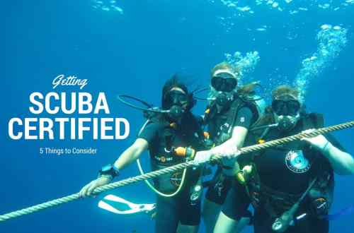 getting scuba certified