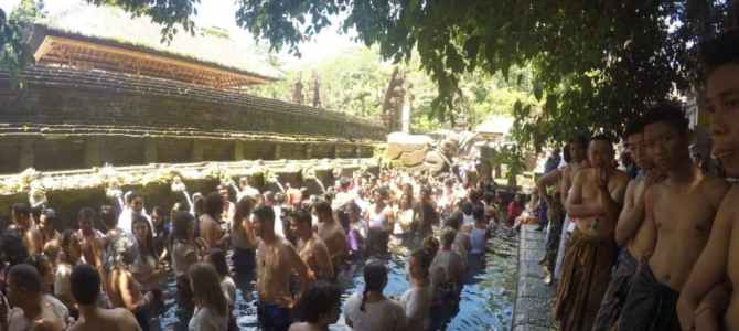 Indi-Hannah Jones and the Healing Waters of Bali's Pura Tirta Empul Temple