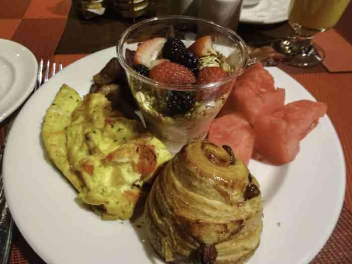 One King West Hotel Breakfast