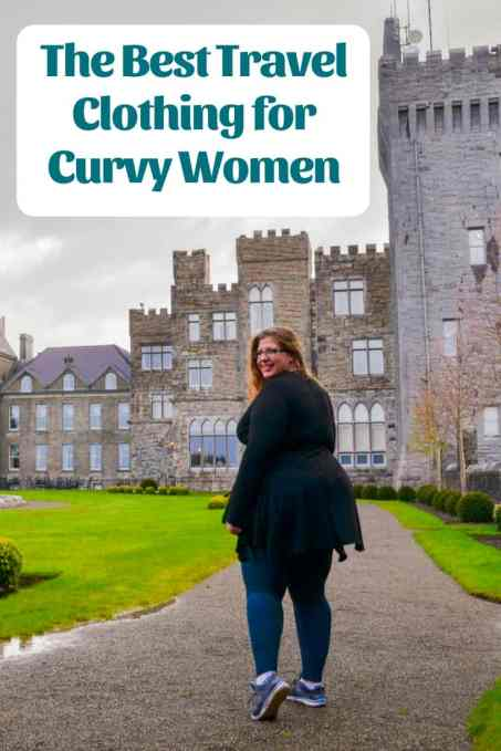 Looking for the best plus size travel clothing for women? I'm sharing my favourites. From dresses to leggings, coats to swimsuits, convertible wear and more, here are my picks for the best travel clothing for curvy women.