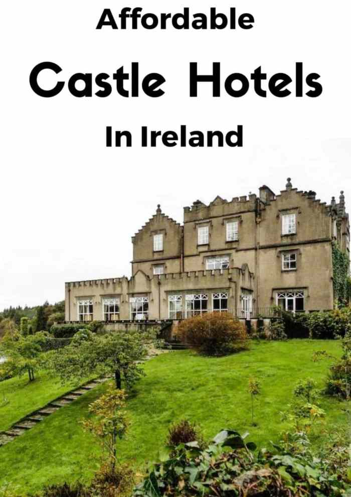 Affordable Castle Hotels in Ireland