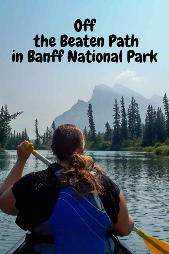 Off the beaten path in Banff National Park