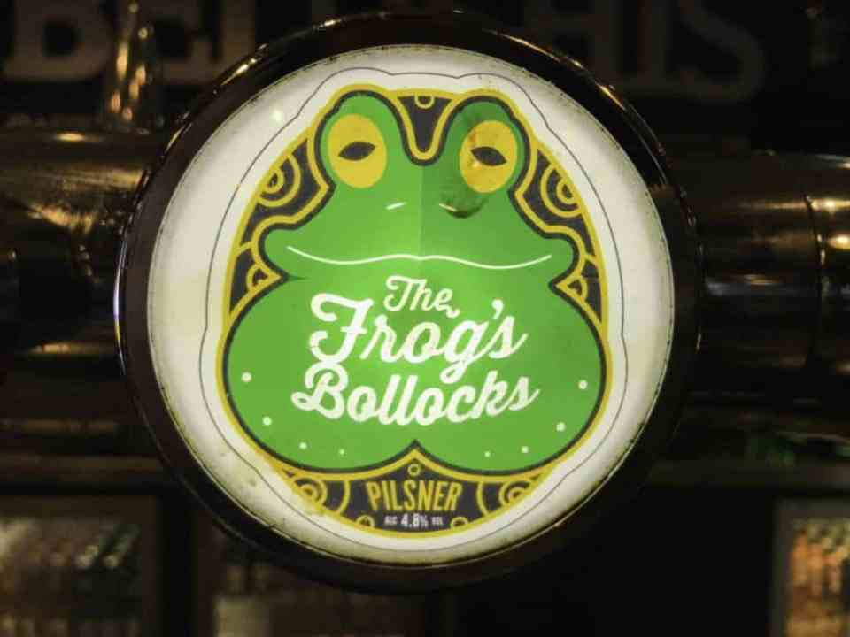 The Frogs Bollocks