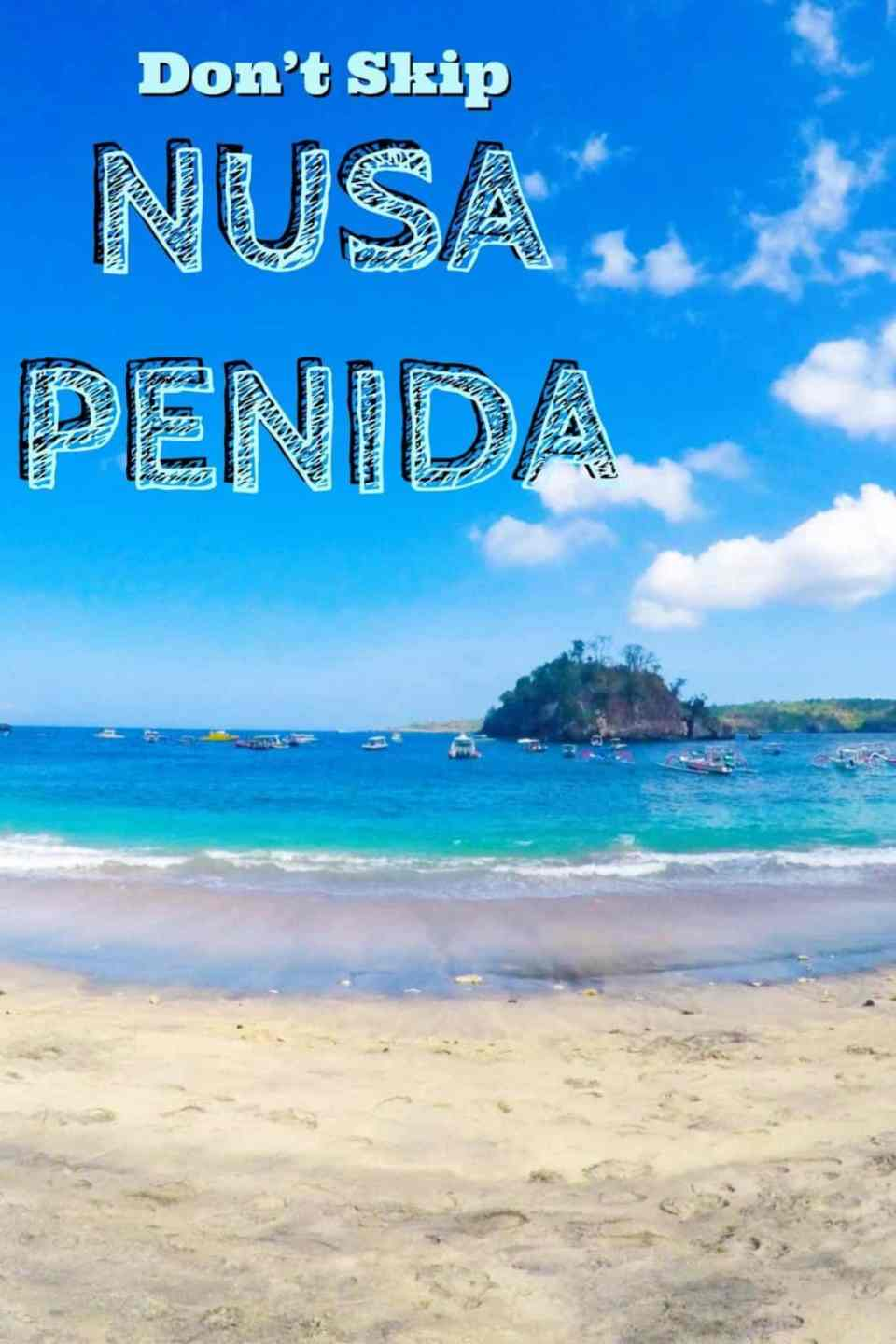 Don't Skip Nusa Penida! This small island was, for me, the real Bali and my favourite part of my trip. I'm sharing the best things to do in Nusa Penida and why I loved it so much. Click for my tips! #Bali #Indonesia #NusaPenida
