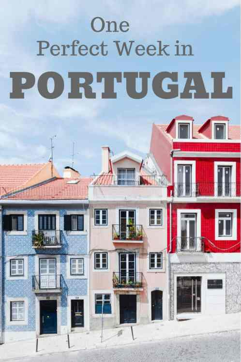 Planning a trip to Portugal? Here is the ultimate itinerary for Portugal in 1 week. #Portugal #Porto #Lisbon #Algarve