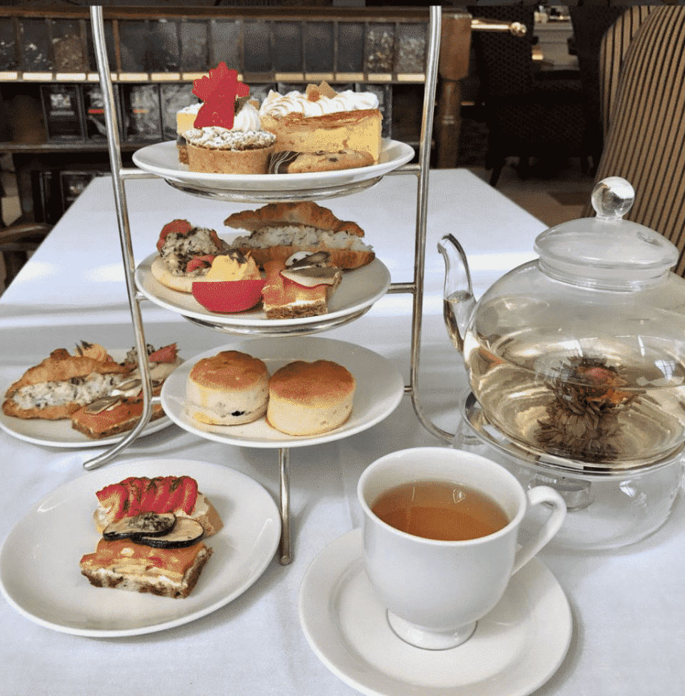 Chateau Laurier Afternoon Tea