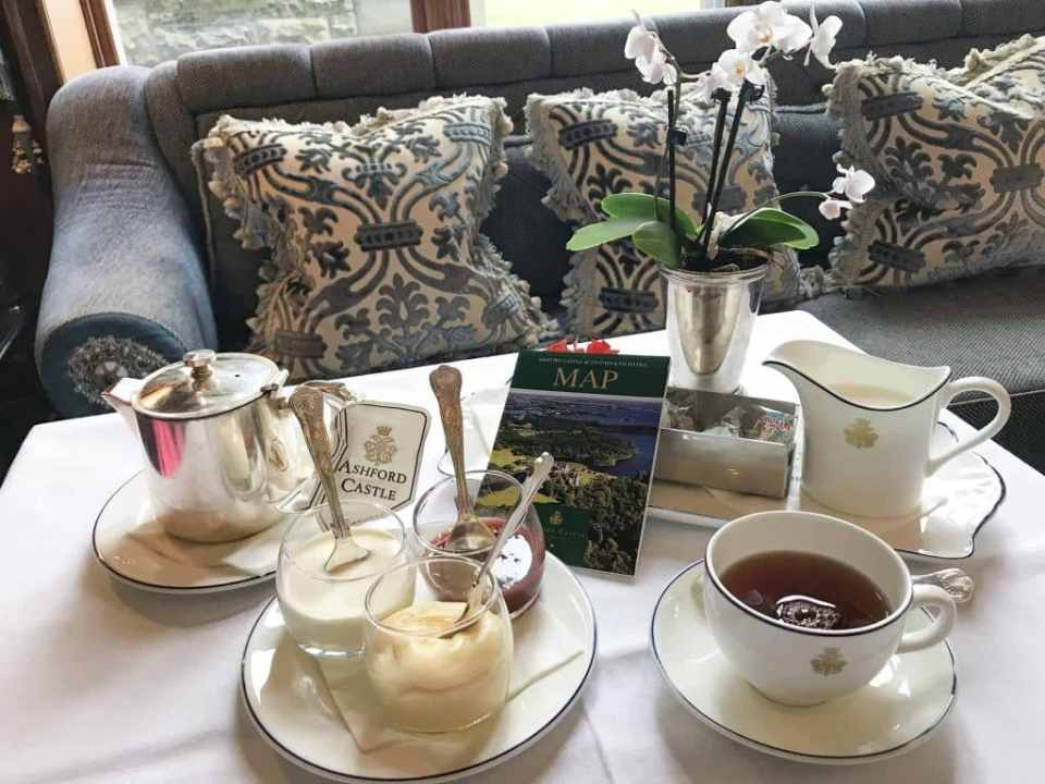 Afternoon Tea at Ashford Castle