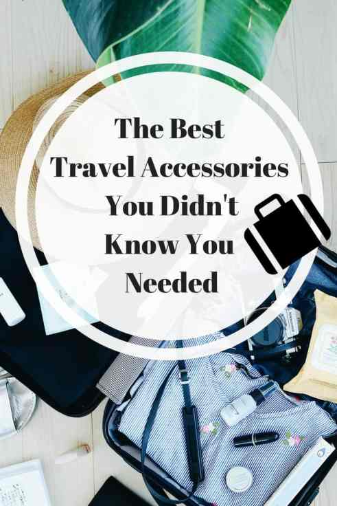 Think you're a packing guru? Think again. I always miss a couple of things but you won't with my list of the best travel accessories for women!
