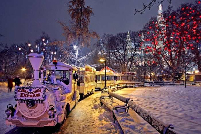 Vienna at Christmas