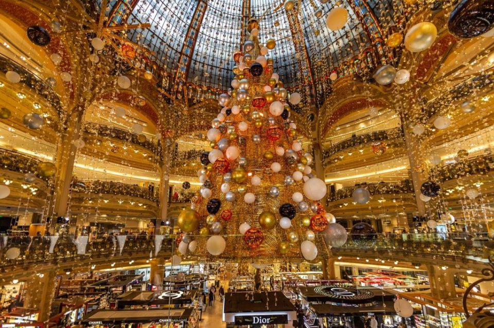Galleries Lafayette Christmas