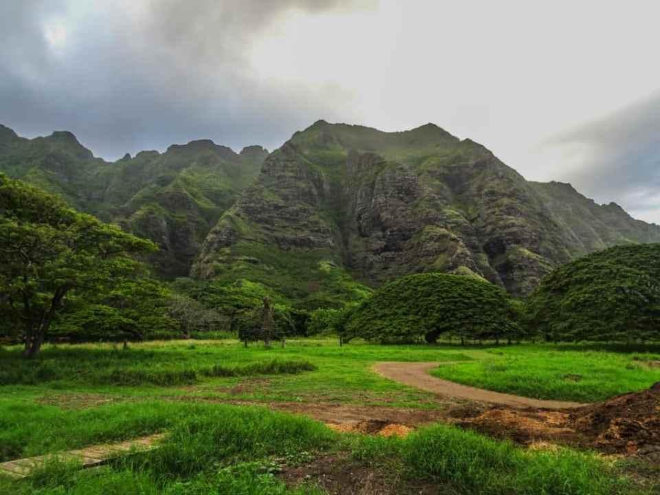 Jurassic Park film set Hawaii