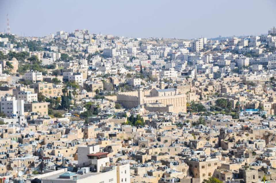View of Hebron