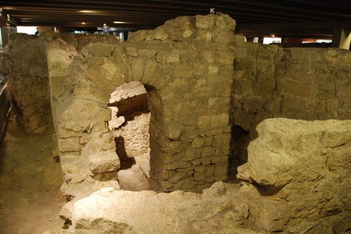 Notre Dame Crypt, Paris
