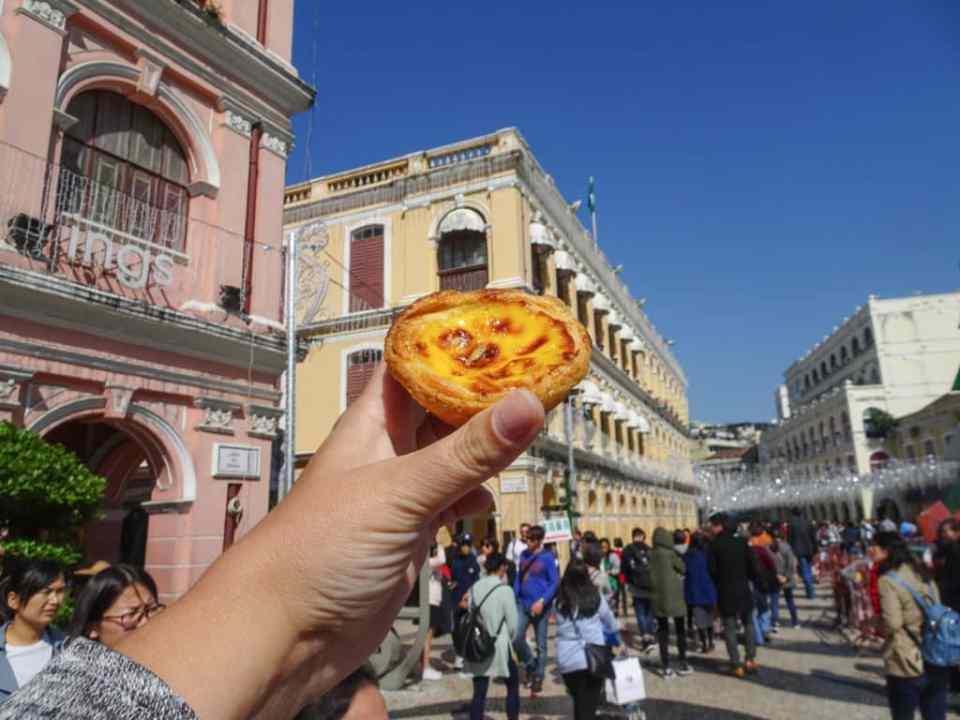 Macau Egg Tart