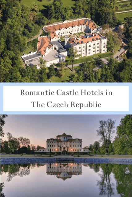 Castle hotels in the Czech Republic