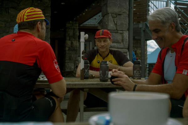 Trans Pyrenees Cycling Tour Coffee