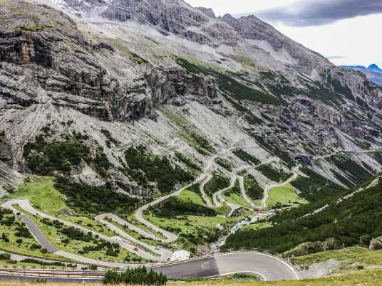 Italy Alps Cycling