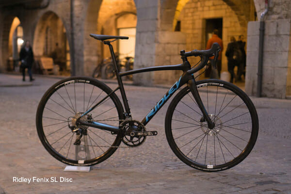 Bike Hire - Ridley Fenix SL Disc - Classic Alps Cycle