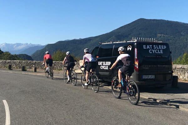 Ride Support - Classic Climbs of the Alps - Eat Sleep Cycle
