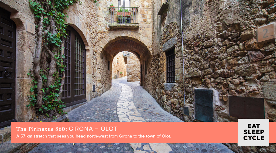 The Pirinexus 360 Cycle Tour - Girona - Olot