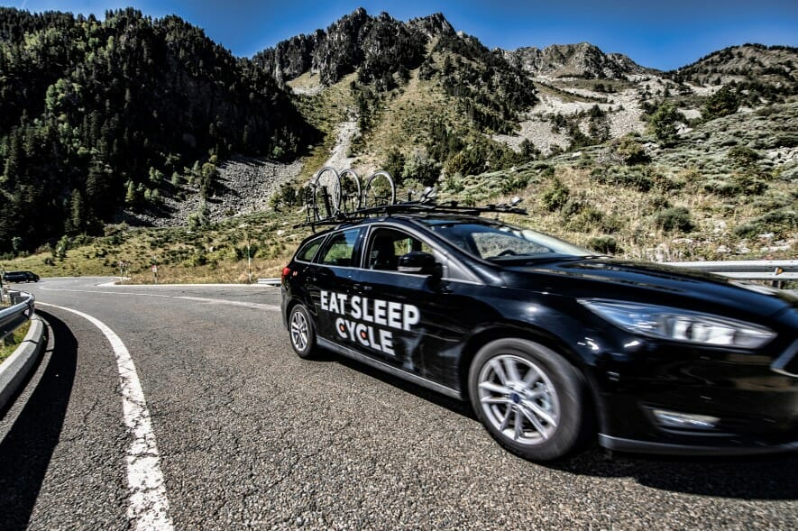 Eat Sleep Cycle Vehicle Support